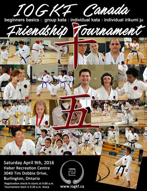 I.O.G.K.F. Friendship Tournament